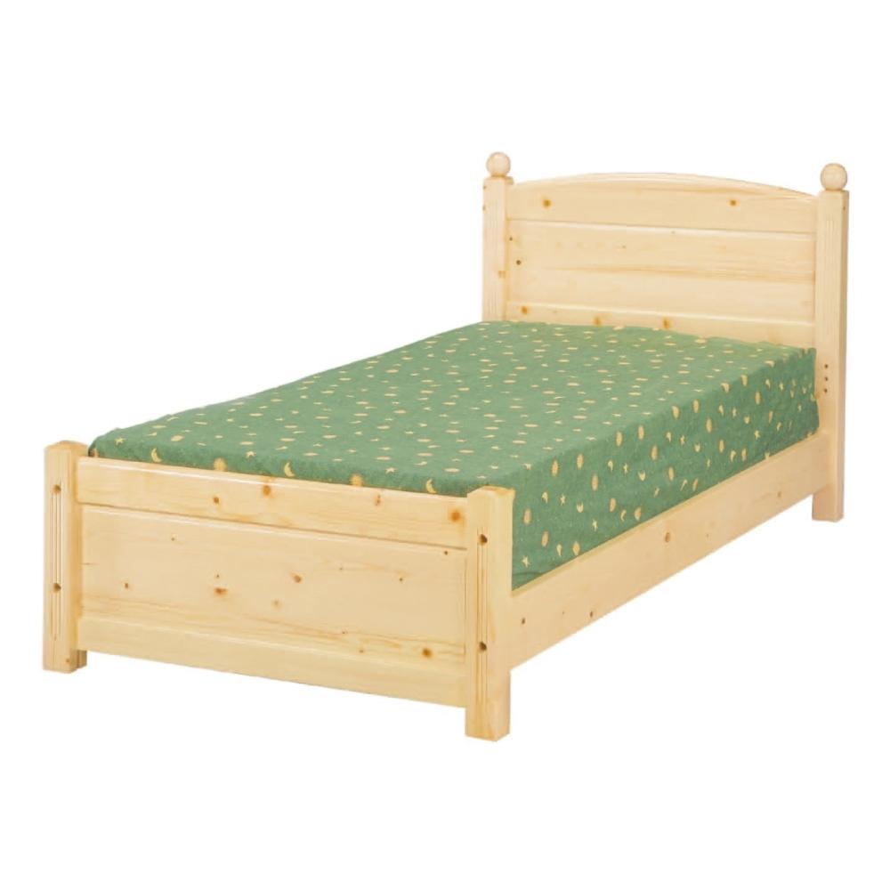 AS-曼德3.5尺水蜜桃實木床板-105x201x90cm