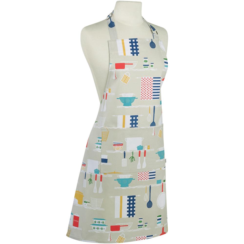 《NOW》平口單袋圍裙(繽紛廚房)