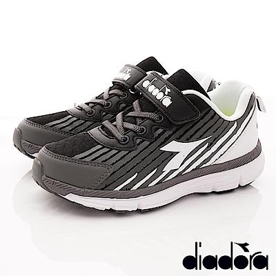DIADORA Q彈運動跑鞋款-RSE110黑(中大童段)