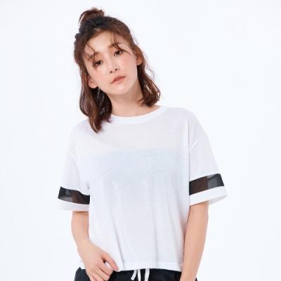 New Balance NB Dry 短袖上衣 AWT93152WT 女性 白色