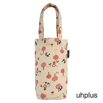 uhplus Love Life 隨行環保飲料袋(長版)- 森林小紅帽