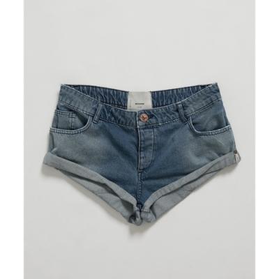 OneTeaspoon 牛仔短褲 HOLLYWOOD BANDITS-女(藍)