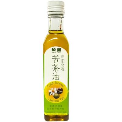 松鼎正宗北港 100%苦茶油(小)12瓶/箱(250ml/瓶)