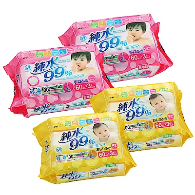 Weicker-純水99%日本製濕紙巾手口專用6包厚型6包