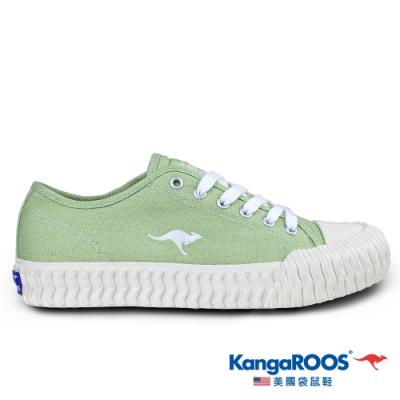 KangaROOS 美國袋鼠鞋 女 CRUST 甜點餅乾鞋(綠/白-KW01555)