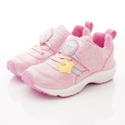 日本月星頂級童鞋 冰雪聯名運動鞋款 ON2414粉(中小童段)