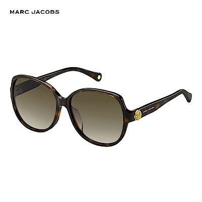 Marc Jacobs- MARC 91/F/S 都會時尚型女太陽眼鏡 玳瑁色