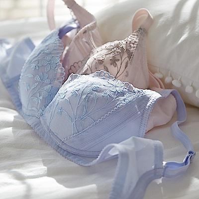 蕾黛絲-春日蔓蔓無鋼圈靠過來 C罩杯內衣 淺柔紫