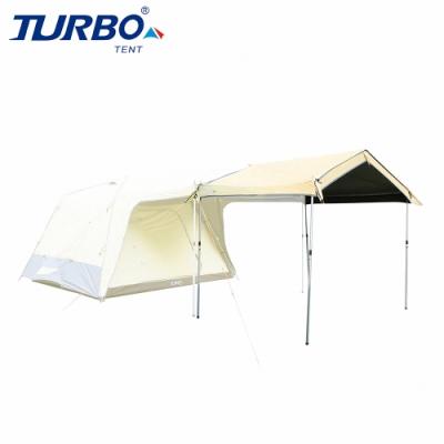 【Turbo Tent】Lite300 延伸屋簷 第三代(Lite 300多功能配件 乾隆黃配色BlackOut全遮光)