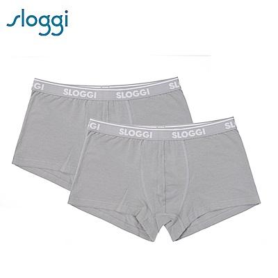 sloggi Men Go ABC系列男士平口褲2件包 石灰色 C76-937 GR