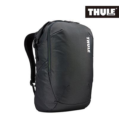 THULE-Subterra 34L商旅兩用雙層筆電背包TSTB-334-暗灰