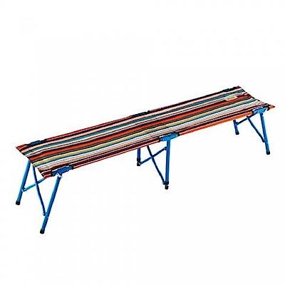 LOGOS #73176004 條紋四人長凳