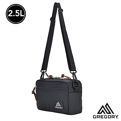 Gregory 2.5L Pad Shld Pouch 斜背包 腰包 黑 M
