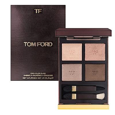 TOM FORD 高級訂製四格眼盤#03 NUDE DIP 6g (盒凹)