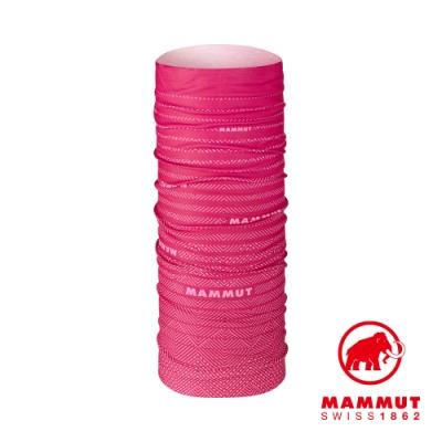 【Mammut 】Mammut Neck Gaiter 防曬快乾頭巾 夕陽紅 #1191-05814