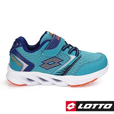 LOTTO 義大利- 中童WINDFLY 乘風者風動跑鞋 (藍)