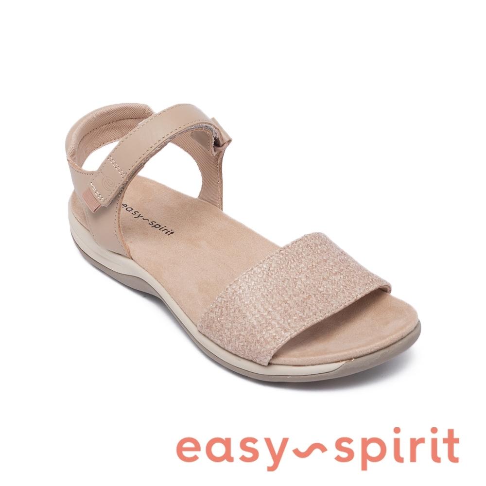 Easy Spirit-seSHAILEY  典雅綁帶設計涼鞋-米杏色