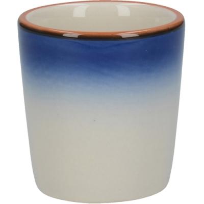 《CreativeTops》陶製蛋杯(渲染藍)