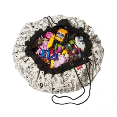 Play&go 玩具整理袋 藝術家聯名款 (趣味塗鴉)