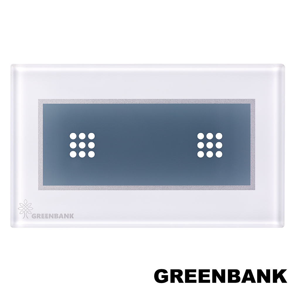 GREENBANK 無線物聯網智能開關(雙開關) GS002