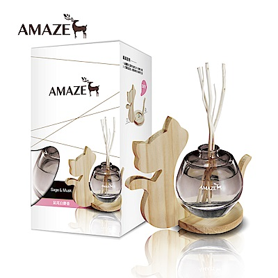 Amaze森林擴香 鼠尾白麝香(90ml/入)