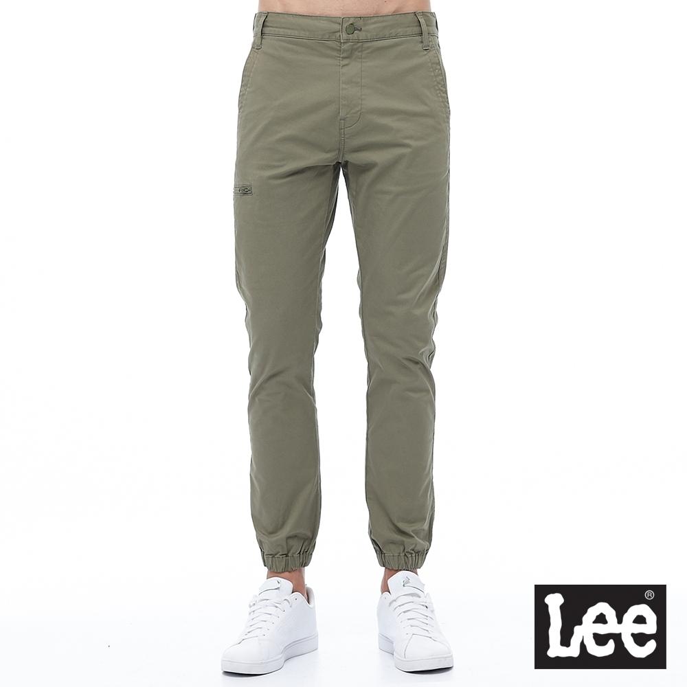 Lee 803 束口錐形 休閒褲 男款 軍綠 彈性