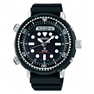 SEIKO精工 PROSPEX 專業200米潛水太陽能雙顯手錶(SNJ025P1)