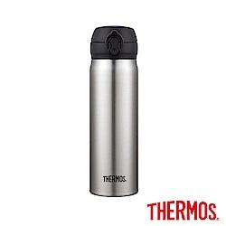 THERMOS 膳魔師超輕量不鏽鋼真空保溫瓶0.5L(JNL-500-SBK)