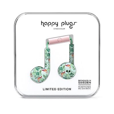 Happy plugs 極致耳塞式耳機 - 熱帶雨林紅鶴