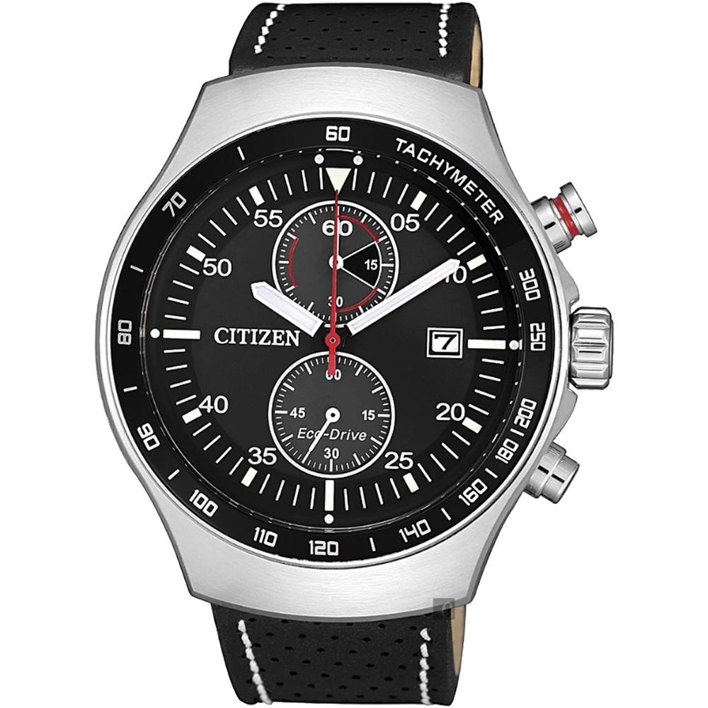 CITIZEN 星辰 光動能計時手錶-43.5mm(CA7010-19E)