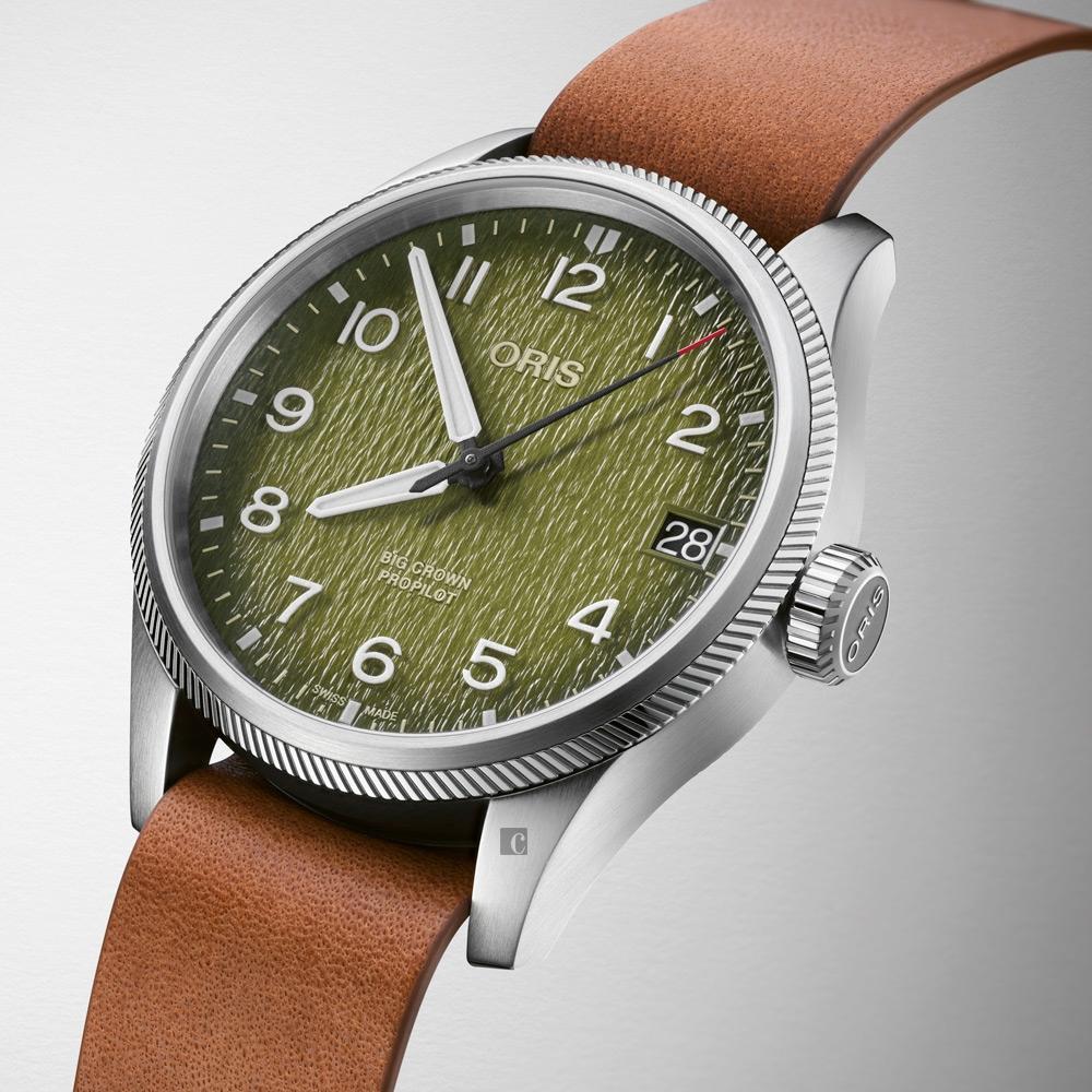 Oris豪利時 Big Crown ProPilot 歐卡萬哥 空中救援限量腕錶 套錶 0175177614187-Set