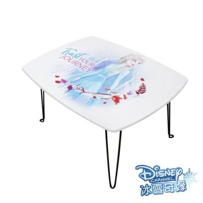 迪士尼Disney 冰雪奇緣 Elsa艾莎 摺疊長桌 和室桌 兒童桌60x45x30cm