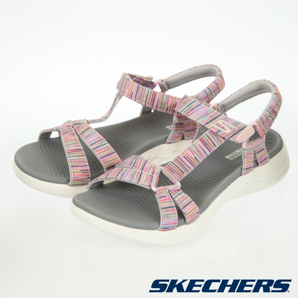 SKECHERS  女健走系列涼鞋 ON THE GO 600-140013GYMT