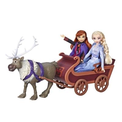 迪士尼公主系列 - 冰雪奇緣2 公主與小斯雪橇組
