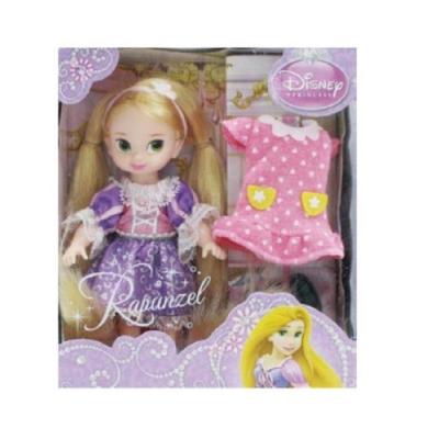 迪士尼 4吋迷你長髮公主