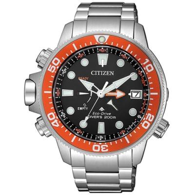CITIZEN星辰 PROMASTER 光動能200米潛水錶(BN2039-59E)