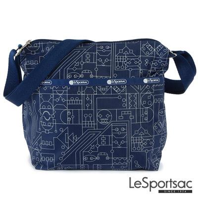 LeSportsac - Standard側背小方包(膠帶男孩)