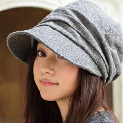 QUEENHEAD日系360度美抗寒保暖抗UV帥氣小顏帽(灰色)