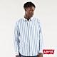 Levis 男款 條紋單口袋襯衫 / 寬鬆休閒版型 product thumbnail 1