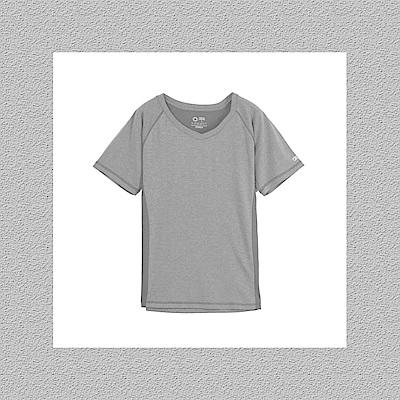 Gfun 女吸濕排汗T恤-深灰色(G7URSL2-gray)