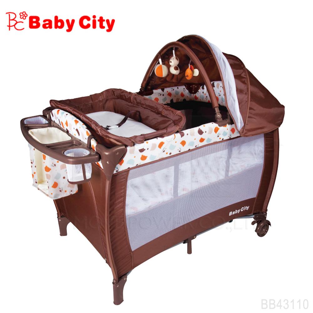 娃娃城BabyCity-全配式遊戲床