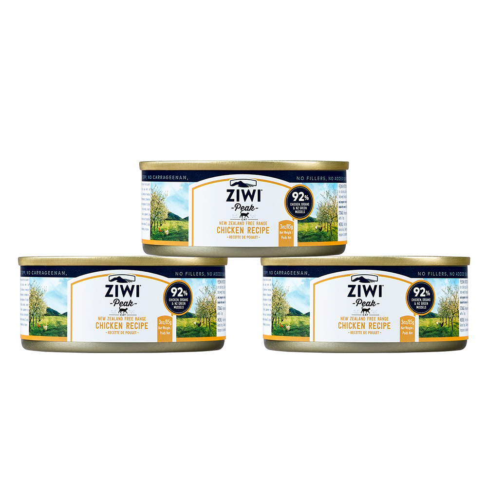 ZiwiPeak巔峰 92%鮮肉貓 雞肉 85G (一箱24罐)