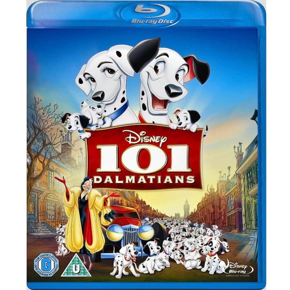 101忠狗  101 Dalmatians  藍光 BD