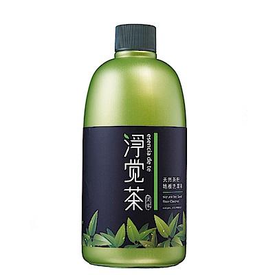 茶寶 淨覺茶 茶籽地板清潔液+茶籽衛浴清潔液(500mlx12瓶)特惠組!