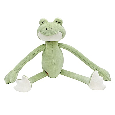 miYim有機棉瑜珈娃娃-好夢蛙