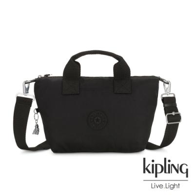 Kipling 極致低調黑簡約手提肩背托特包-KALA MINI