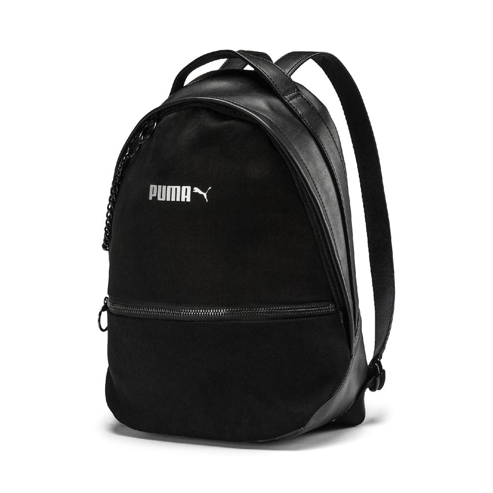 PUMA-女性Prime Premium後背包-黑色