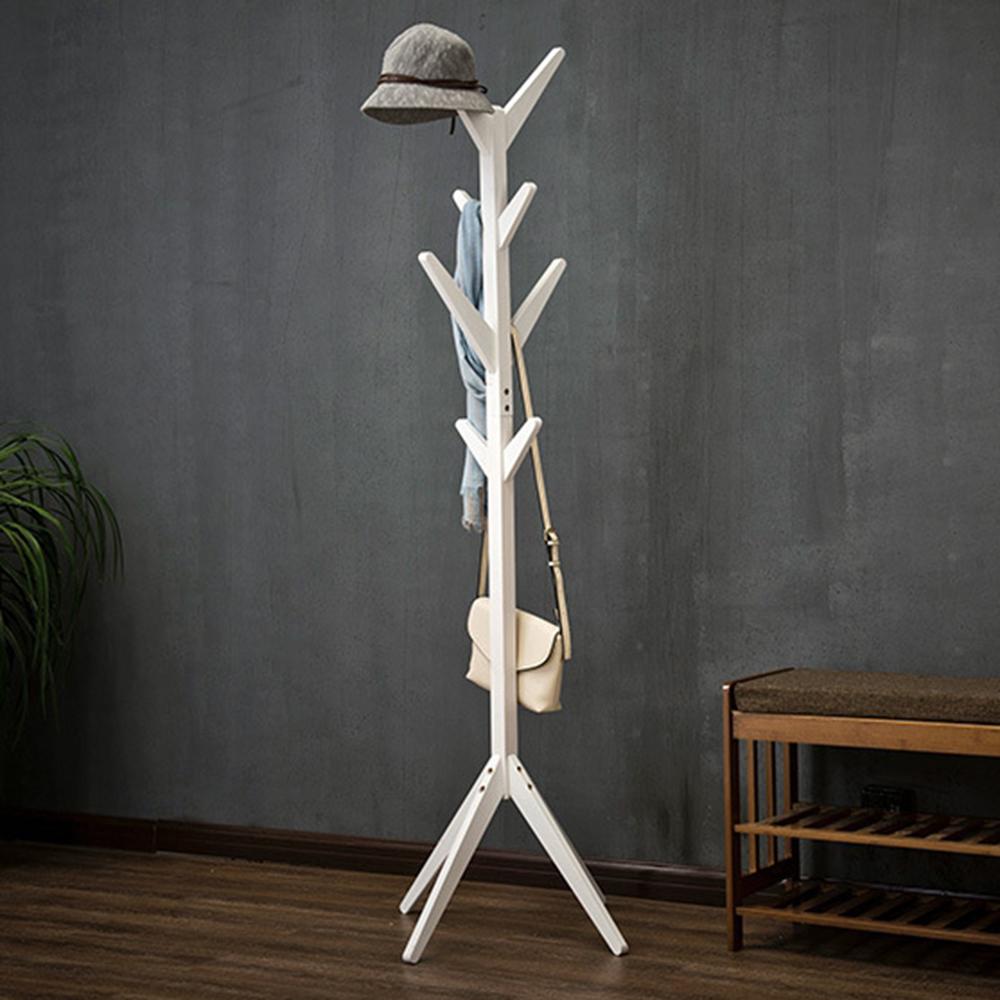 木質落地衣帽架 衣櫥衣櫃收納 吊衣架 掛衣架