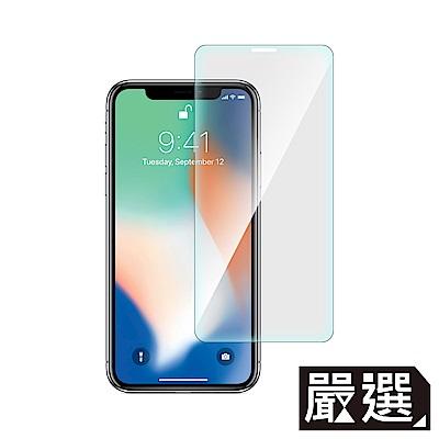 嚴選iPhone Xs Max非滿版疏水疏油鋼化玻璃保護貼6.5吋