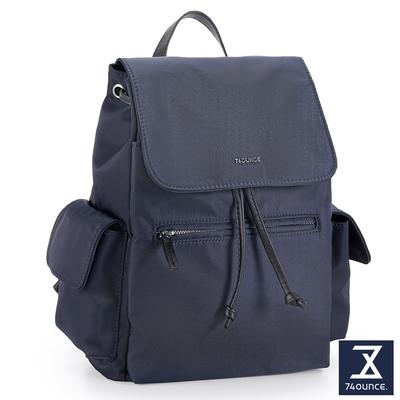 74盎司 Roomy 束口後背包[LG-923-RO-W]藍